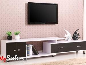 Hình ảnh kệ tivi gỗ đẹp giá rẻ AmiA KTV233
