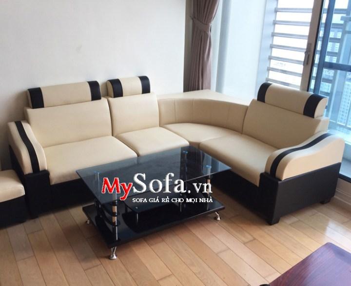 Hình ảnh sofa giá rẻ dưới 3 triệu kê phòng khách chung cư đẹp