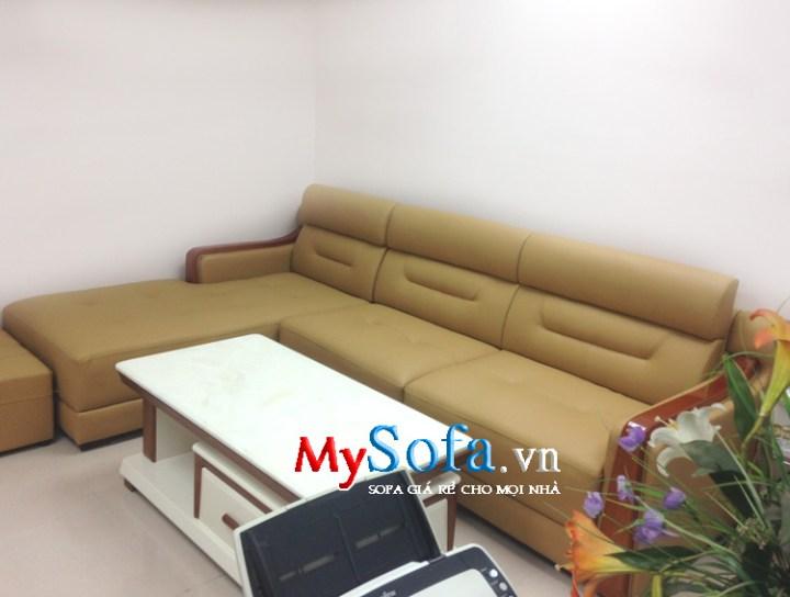 Hình ảnh sofa phòng khách đẹp dạng góc