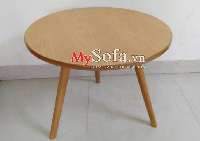 Mẫu bàn trà gỗ kê Sofa AmiA BTR164 | mySofa.vn