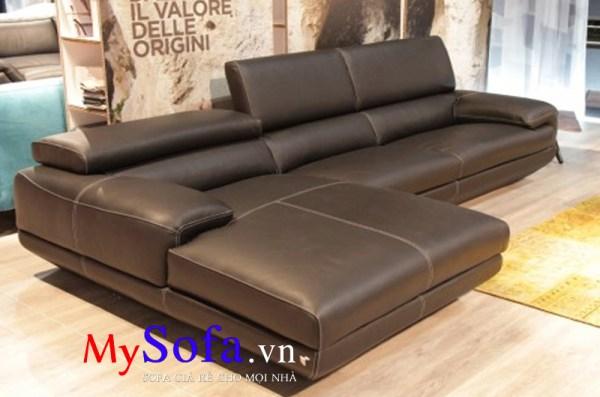 Ghế Sofa da hiện đại cho phòng khách AmiA SFD102