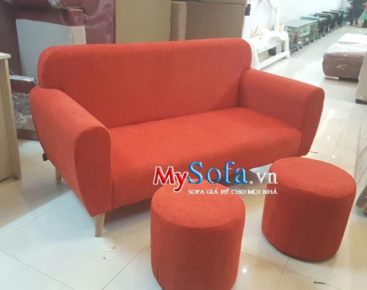 Mẫu ghế sofa đẹp cỡ nhỏ mini giá rẻ dạng ghế văng