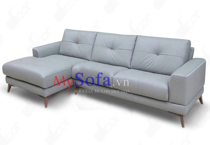 Mẫu ghế Sofa da đẹp sang trọng AmiA SFD192