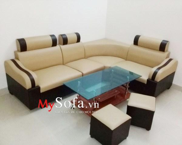 Mẫu Sofa góc đẹp giá rẻ AmiA SFD074 | mySofa.vn
