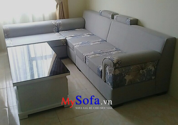 Mẫu Sofa nỉ giá rẻ cho phòng khách hiện đại AmiA SFN052