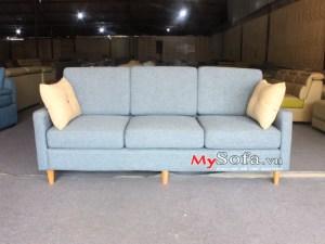 Mẫu sofa văng nỉ đạp và sang trọng AmiA SFN189