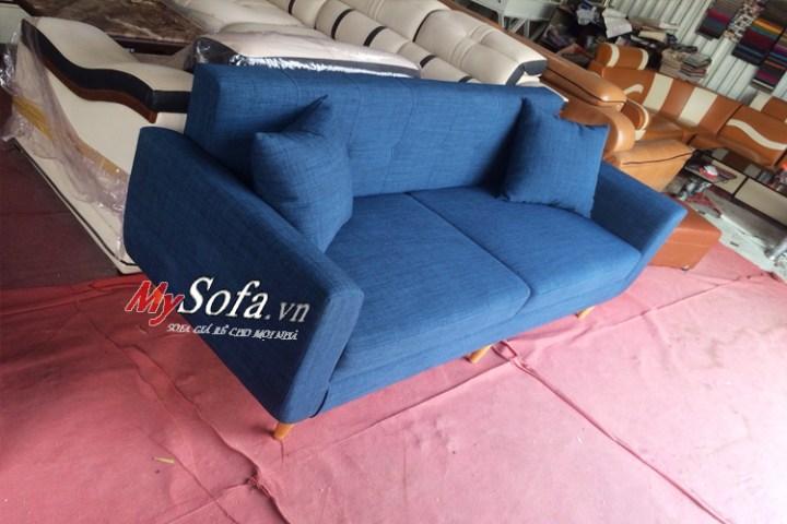 mẫu sofa văng nỉ AmiA SFV175 kích thước nhỏ cực đẹp