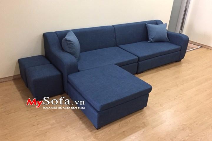 Sofa văng nỉ AmiA SFV134 cực đẹp cho phòng khách