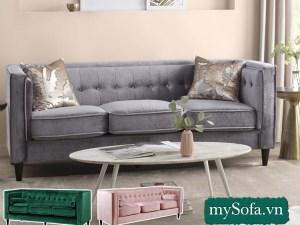 mẫu ghế sofa phòng khách nhỏ đẹp sang trọng