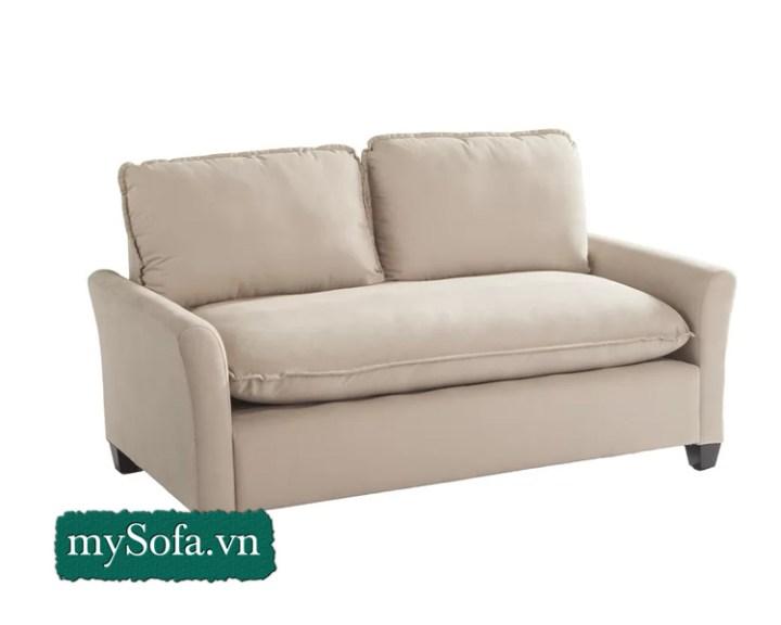 mẫu sofa nỉ êm ái kê phòng ngủ