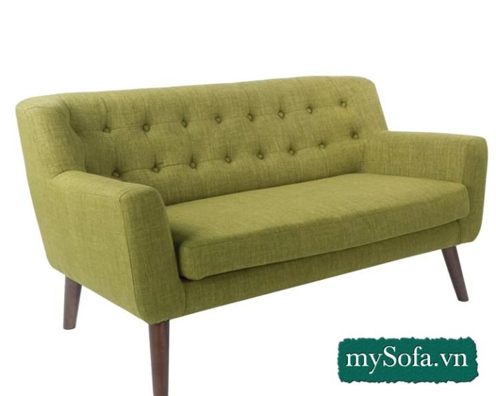 Mẫu ghế sofa chân gỗ cao