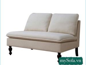 Hình ảnh mẫu ghế sofa văng mầu trắng đẹp MyS-182019