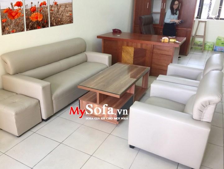 Sofa đẹp giá rẻ kê văn phòng công ty