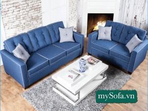 Bộ ghế Sofa đẹp kê phòng khách gia đình MyS-18646