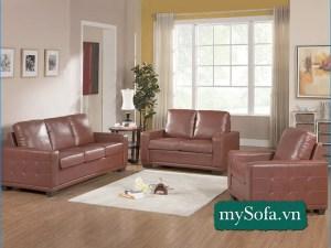 Bộ ghế Sofa phòng khách sang trọng hiện đại MyS-18640