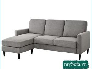 mẫu ghế sofa góc đẹp MyS-19274, chất liệu nỉ