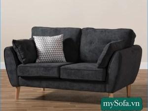 mẫu sofa văng nỉ nhung MyS-19098