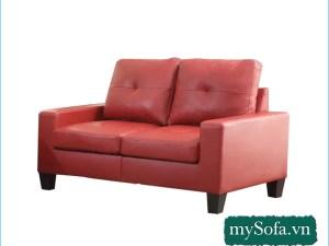 màu đỏ đẹp dạng ghế văng nhỏ mini 2 chỗ MyS-1901