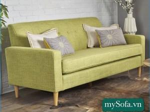 mẫu ghế sofa giá rẻ MyS-19072, chất liệu nỉ