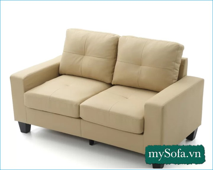mẫu ghế sofa màu vàng kem đẹp giá rẻ MyS-19067