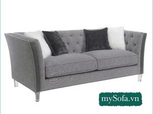 mẫu ghế sopha hiện đại lai tân cổ điển MyS-19543
