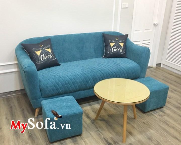 Mẫu ghế sofa mini cho phòng khách nhỏ