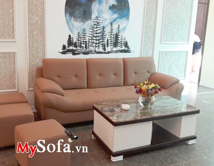 Mẫu ghế sofa phòng khách nhỏ hẹp