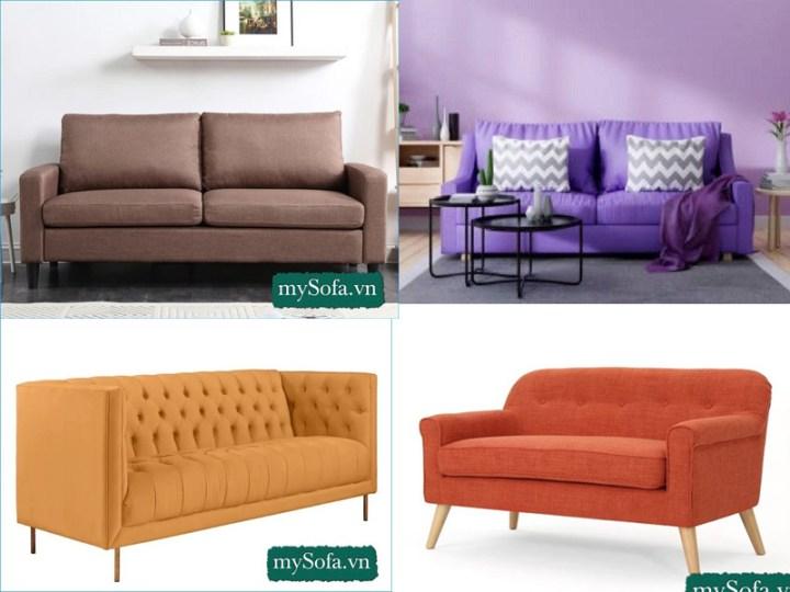 Sofa phòng khách hợp mệnh thổ