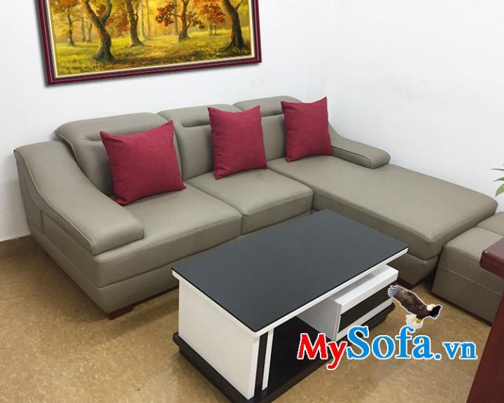 Bàn ghế sofa da đẹp giá rẻ tại Hà Nội