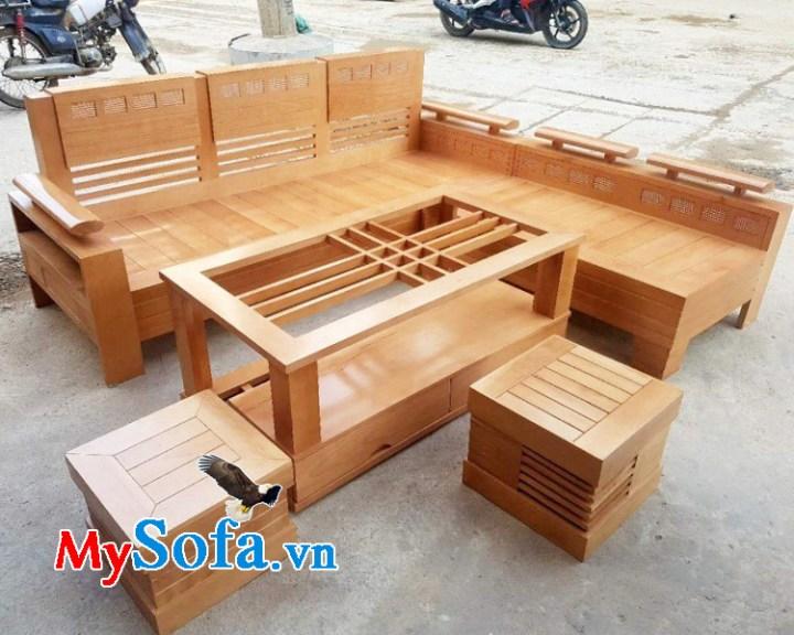 Cửa hàng bán ghế sofa gỗ sồi tự nhiên đẹp