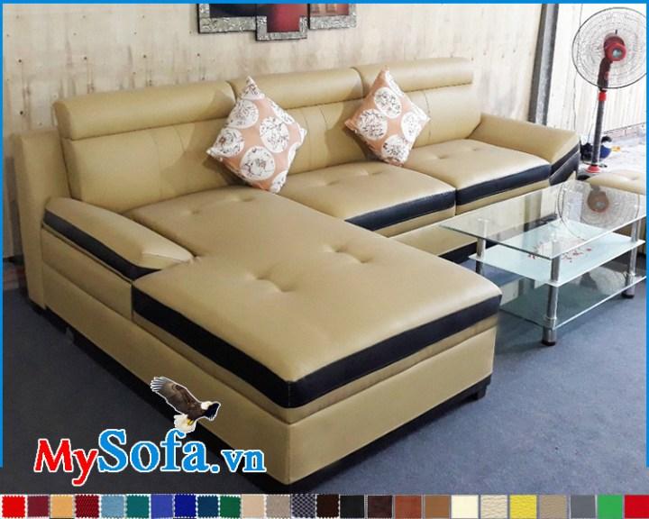 Địa chỉ bán ghế sofa da đẹp giá rẻ