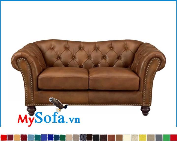 Ghế sofa da đẹp sang trọng