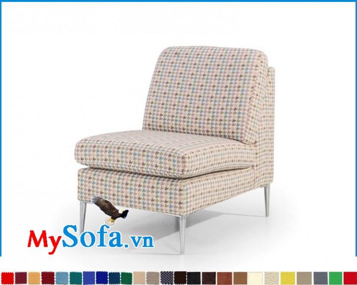 Ghế sofa đơn 1 chỗ đẹp không tay vịn