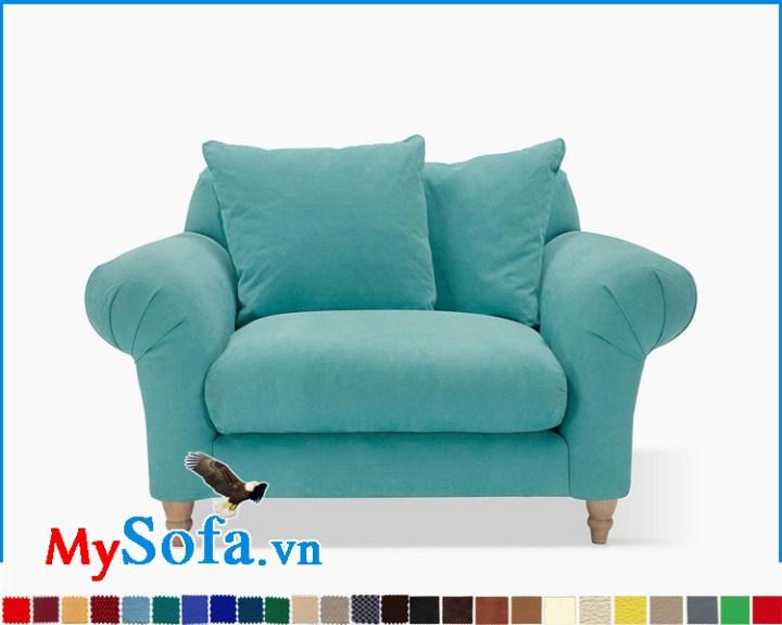 Ghế sofa đơn thư giãn kê phòng ngủ đẹp