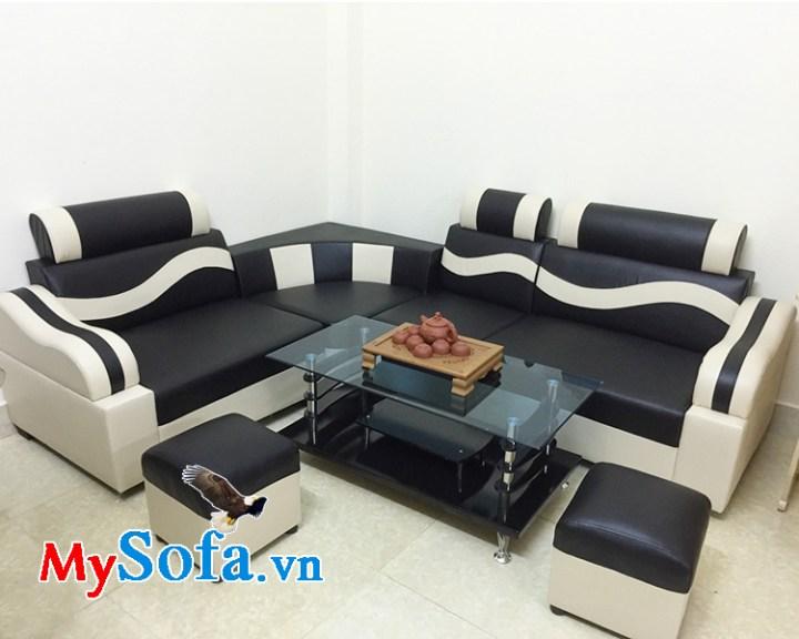 Ghế sofa giá rẻ dưới 3 triệu chất liệu da