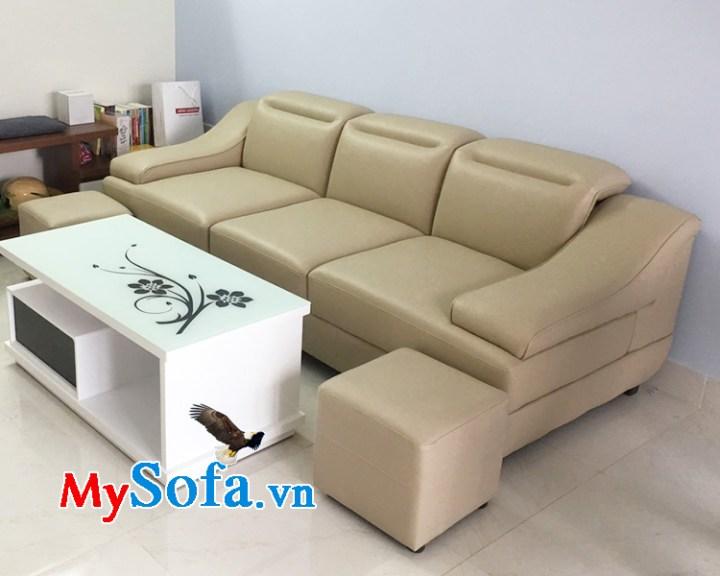 mẫu ghế sofa văng 3 chỗ ngồi
