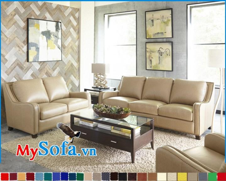 Hình ảnh bộ ghế sofa góc kê phòng khách