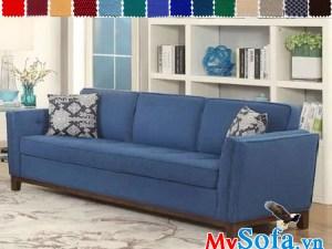 Ghế sofa văng chất nỉ đẹp thiết kế hiện đại
