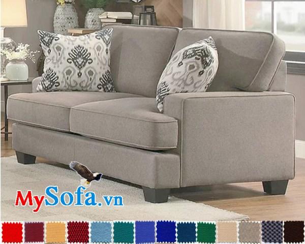 MyS 0619046 là mẫu ghế sofa văng rộng rãi có thiết kế đơn giản nhưng hiện đại