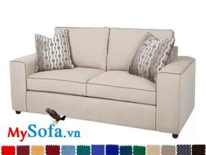 sofa nỉ văng đẹp hiện đại sang trọng
