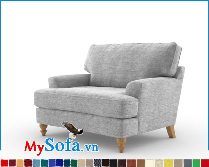 Mẫu ghế sofa đơn thư giãn êm ái