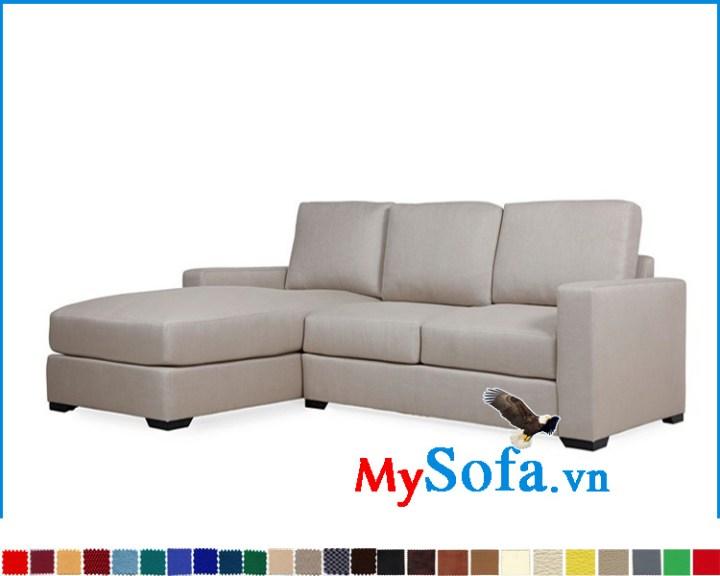 Mẫu ghế sofa góc thiết kế đơn giản