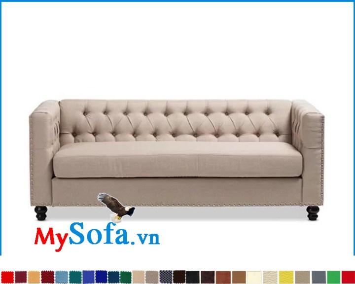 Mẫu sofa đơn dạng ghế băng dài kê phòng khách