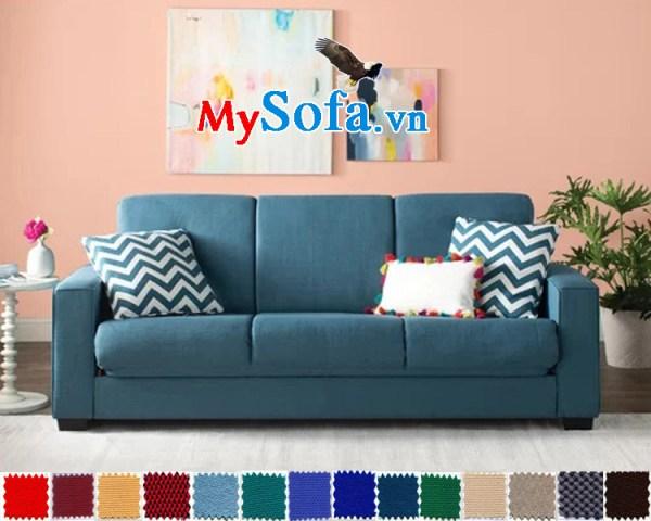 sofa nỉ văng 3 chỗ đẹp giá rẻ hiên đại