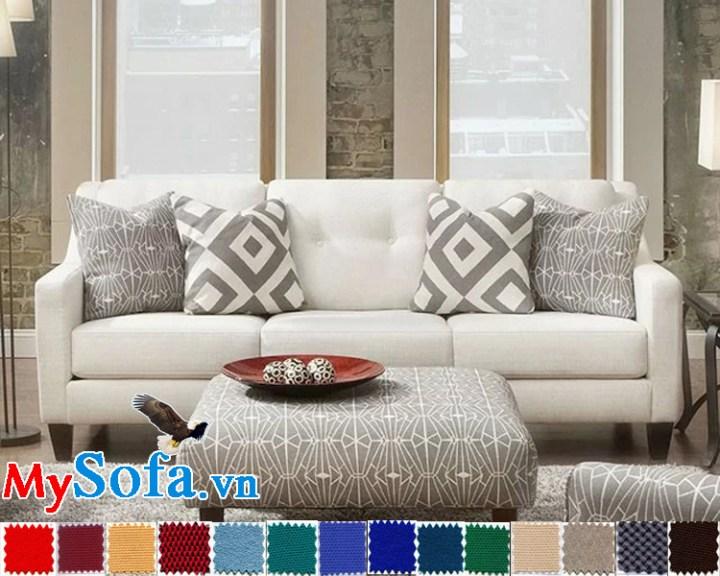 MyS 0619037 sở hữu màu trắng tinh tế cùng thiết kế trang nhã, lịch sự