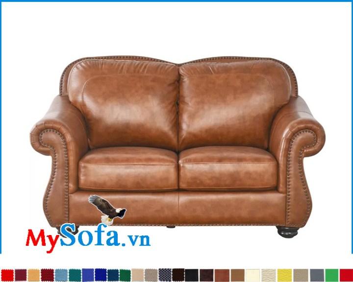 Sofa 2 chỗ ngồi nhỏ gọn dáng cổ điển