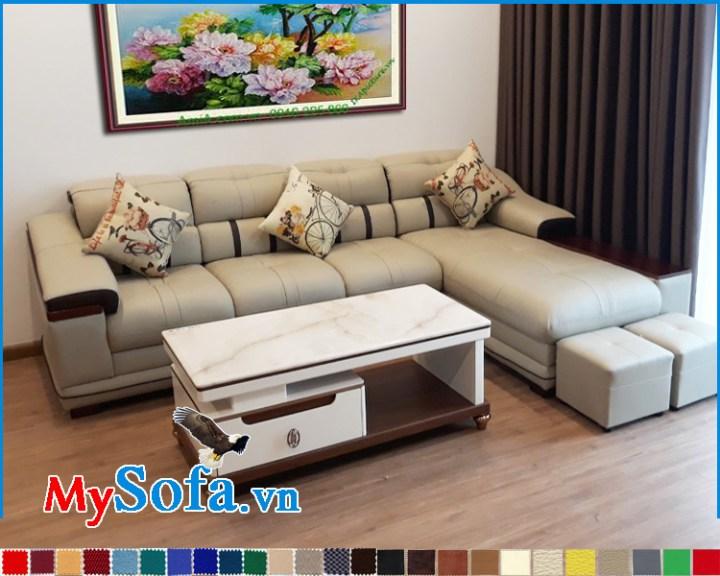 Sofa đẹp cho căn hộ chung cư dạng góc