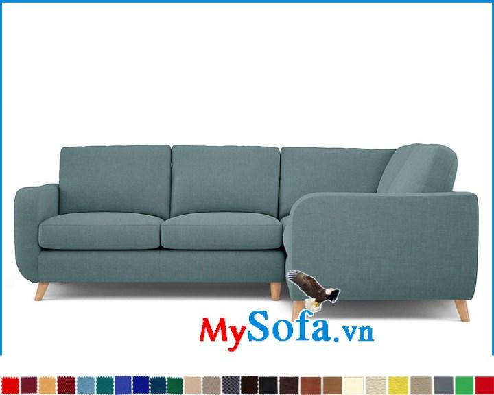 Sofa phòng khách hiện đại dạng góc