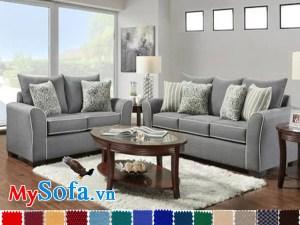 bộ sofa thiết kế rộng rãi cho phòng khách lớn mys 0619288