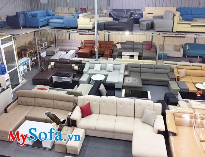 Địa chỉ bán ghế sofa phòng khách giá rẻ nhất